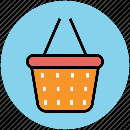 e commerce, hamper, online shopping, online store, shopping basket icon
