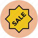 brand, label, retail, sale, sale offer, shop, sticker, tag icon