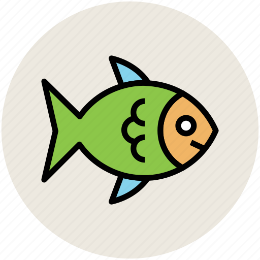animal, fish, food, healthy diet, seafood icon