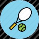 game, sports, tennis, tennis ball, tennis racket icon