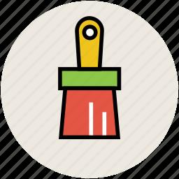 brush, paint, paint brush, painting brush, painting tool icon
