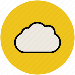 cloud, puffy, sky, sky cloud, weather icon