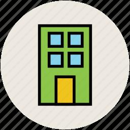 building, doorstep, entrance, entrance door, entry way icon