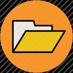 computer folder, data folder, file folder, folder icon