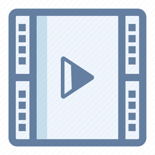 film, media, movie, payer, play, video icon