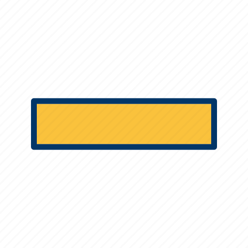 basic element, minimize, minus icon
