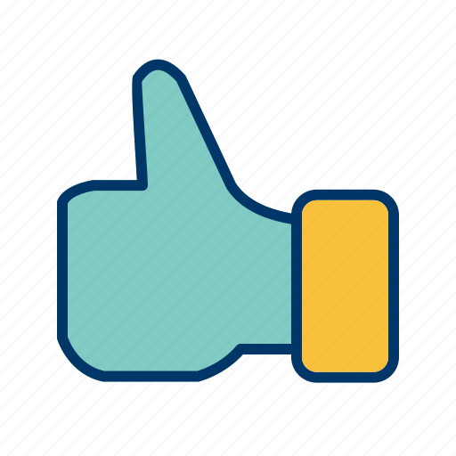 basic element, gesture, hand, like, thumbs up icon