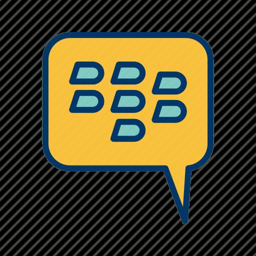 bbm, blackberry, chat icon