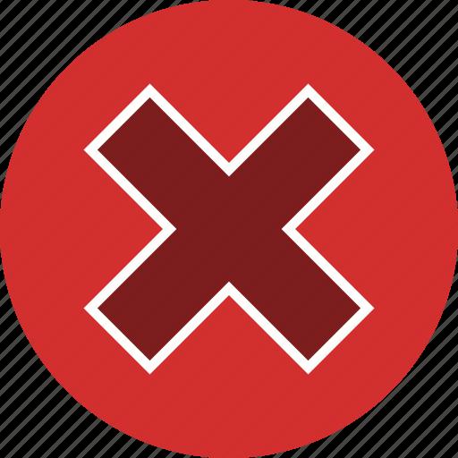 cancel, close, cross icon