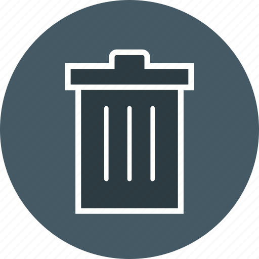 delete, recycle bin, remove icon
