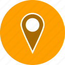 basic element, location, navigation, pin, place icon