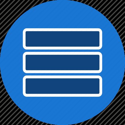 grid, list, menu icon