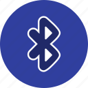 basic element, bluetooth, communication, transfer, wireless icon