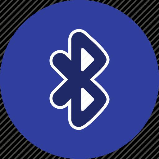 basic element, bluetooth, communication icon