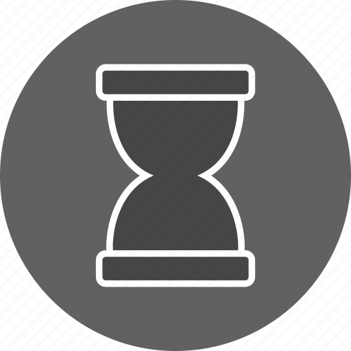 hour glass, loading, wait icon