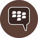 bbm, blackberry, chat icon