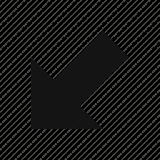 arrow, basic element, direction icon