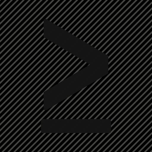 greaterthen, huge, obtusangle icon