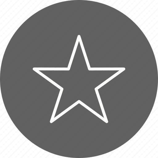 basic element, bookmark, favorite, rating, star icon