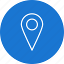 location, map, marker, pin, place icon