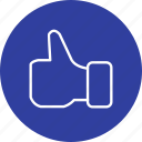 favorite, like, thumbs up icon