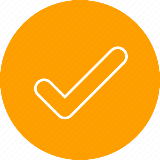 checkmark, done, tick icon