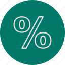 discount, offer, percentage icon