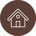 apartment, home, house, hut, villa icon