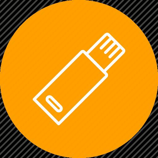 basic element, flash drive, mass storage, storage, usb icon