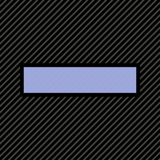 minimize, minus, remove, subtract icon