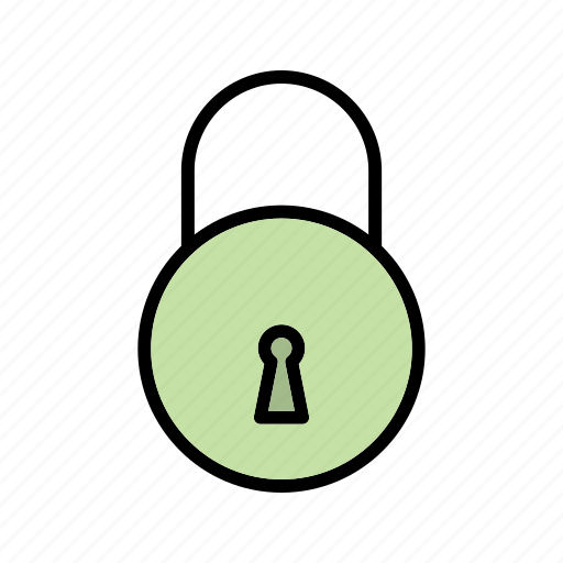 lock, safety, secure icon
