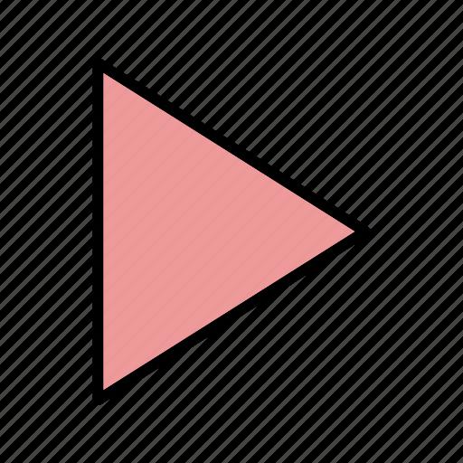basic element, multimedia, music, play, player icon