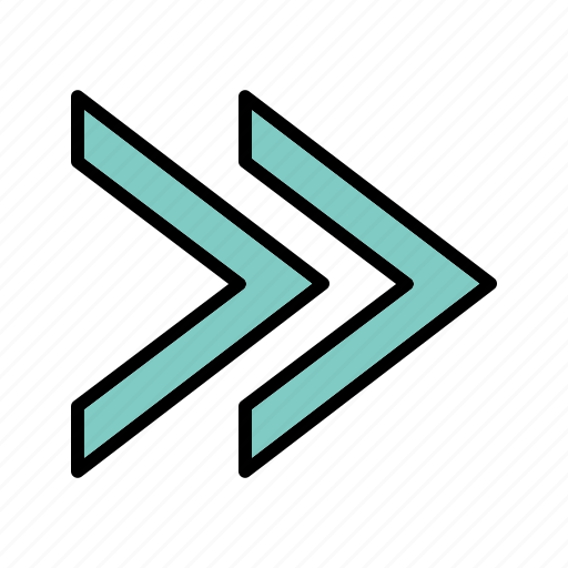 arrows, forward, next icon