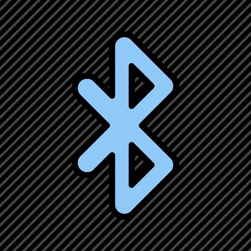 bluetooth, transfer, wireless icon