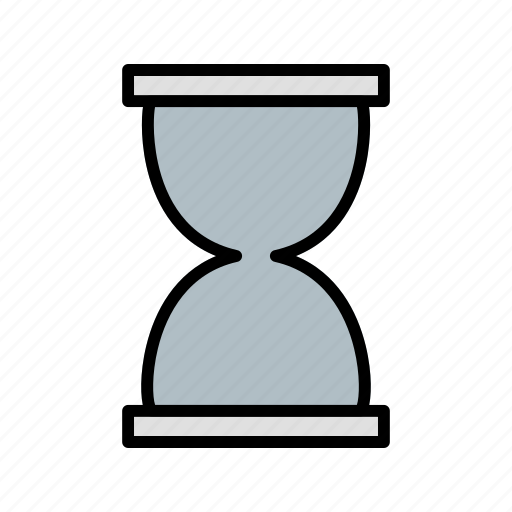 basic element, hour glass, load icon