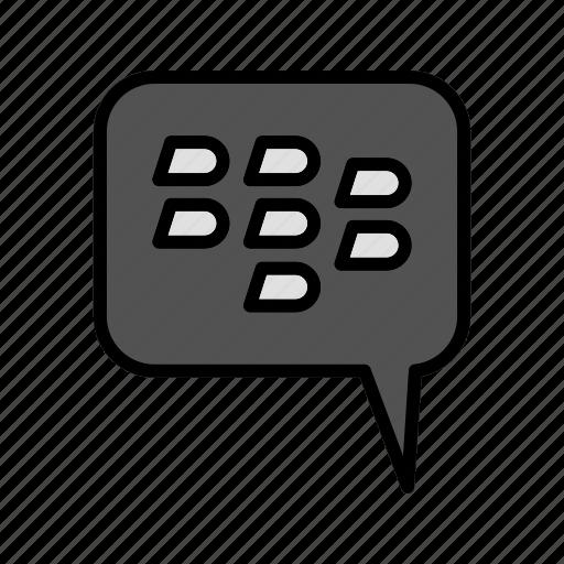 bbm, blackberry, chat, message icon
