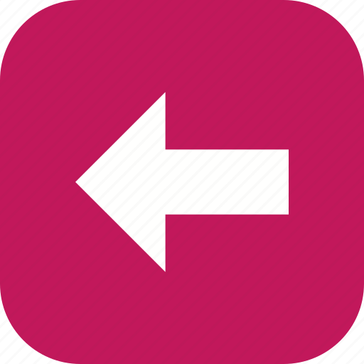 arrow, direction, left icon