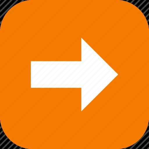 arrow, basic element, navigation, next, right icon