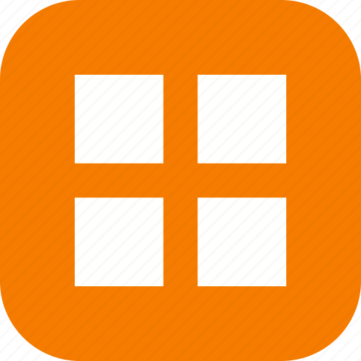 application, apps, basic element, grid, layout icon