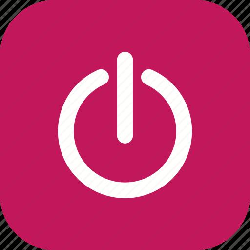 off, power off, shut down icon