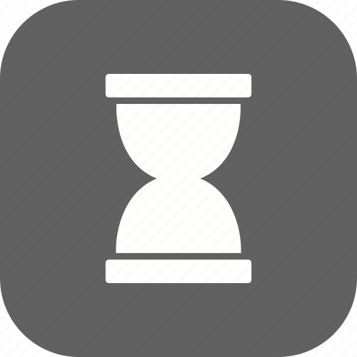 hour glass, loading, wait icon