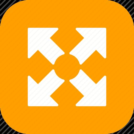 expand, fullscreen, resize icon