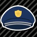 hat, police