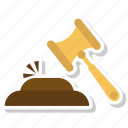 construction, hammer, hammer tool, nail fixer, nail hammer, work icon