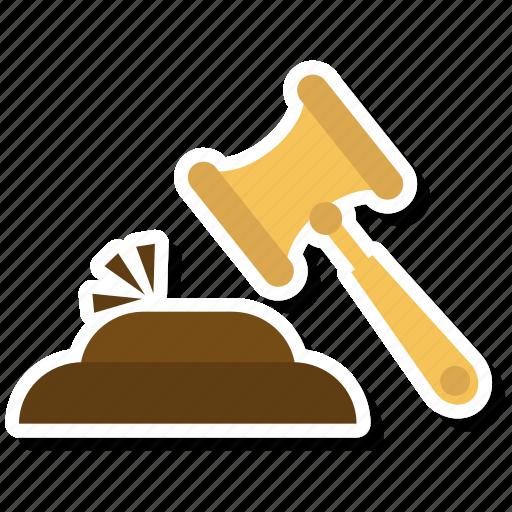 construction, hammer, hammer tool, nail fixer, nail hammer, work icon