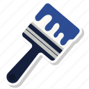 art, brush, color, diy, paint, painting, tool icon
