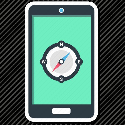 map, mobile, navigation, phone icon