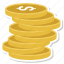 business, coin, dollar, money icon