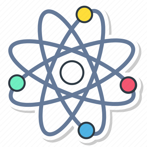 Science Physics From: Atom, Chemistry, Physic, Physics, Proton, Science Icon