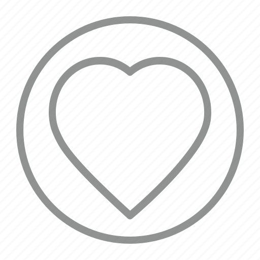 affection, favorite, heart, love icon